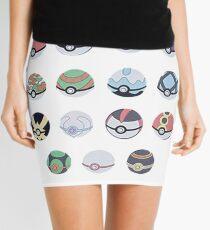 Pokemon Balls Mini Skirt