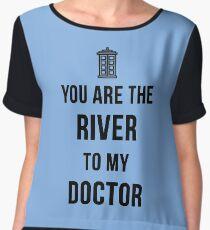 River+Doctor Chiffon Top