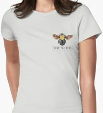 Save The Bees Women's Fitted T-Shirt