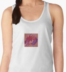 Dragon head in abstract and geometry  Women's Tank Top