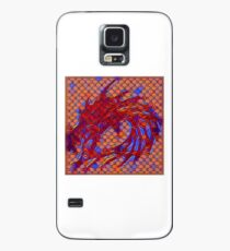 Dragon head in abstract and geometry  Case/Skin for Samsung Galaxy