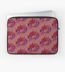 Dragon head in abstract and geometry  Laptop Sleeve