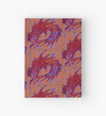 Dragon head in abstract and geometry  Hardcover Journal