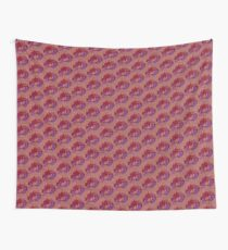 Dragon head in abstract and geometry  Wall Tapestry