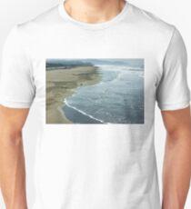 San Francisco Fog - Ocean Beach Rolling Surf T-Shirt