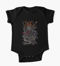 Black Goat of the Woods One Piece - Short Sleeve
