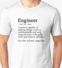 Engineer Definition Unisex T-Shirt