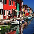 Burano, Italy by fotowagner