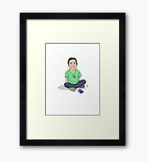 Young Jimmy Fallon Framed Print