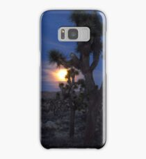 Full Moon Rising, Joshua Tree Samsung Galaxy Case/Skin