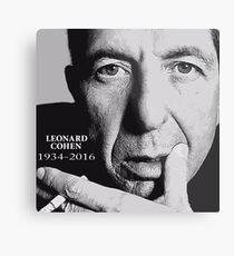 leonard cohen RIP Metal Print