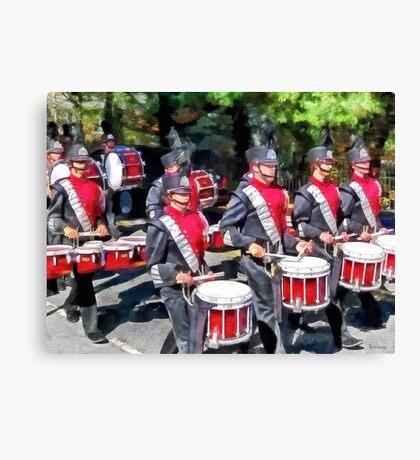 Drum Section Canvas Print