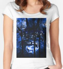 It's in the Trees! Women's Fitted Scoop T-Shirt