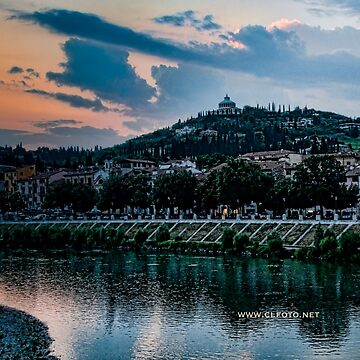 Hillside above Verona, Italy by leemcintyre