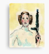 Leia. Canvas Print