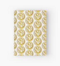 Gold circle dragon  Hardcover Journal