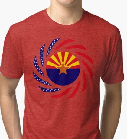 Arizonan Murican Patriot Flag Series Tri-blend T-Shirt