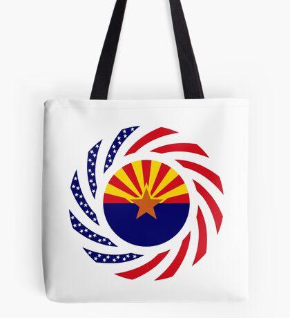 Arizonan Murican Patriot Flag Series Tote Bag