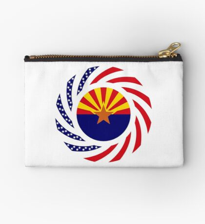 Arizonan Murican Patriot Flag Series Zipper Pouch