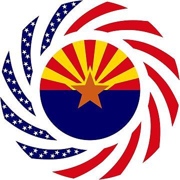 Arizonan Murican Patriot Flag Series by carbonfibreme