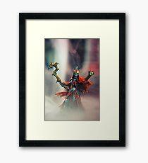 Lich - Reaper Miniatures Framed Print