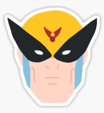 The Birdman Sticker