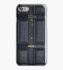 Sherlock 221b Baker st iPhone Case/Skin