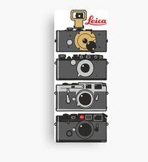 Leica Kameraentwicklung Leinwanddruck