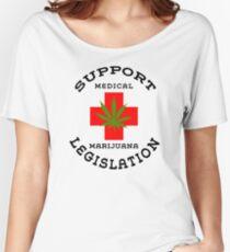 Support Medical Marijuana Legislation Women's Relaxed Fit T-Shirt