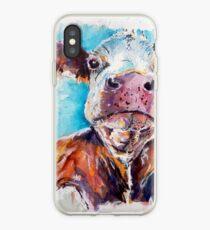 Optimistic Cow iPhone Case
