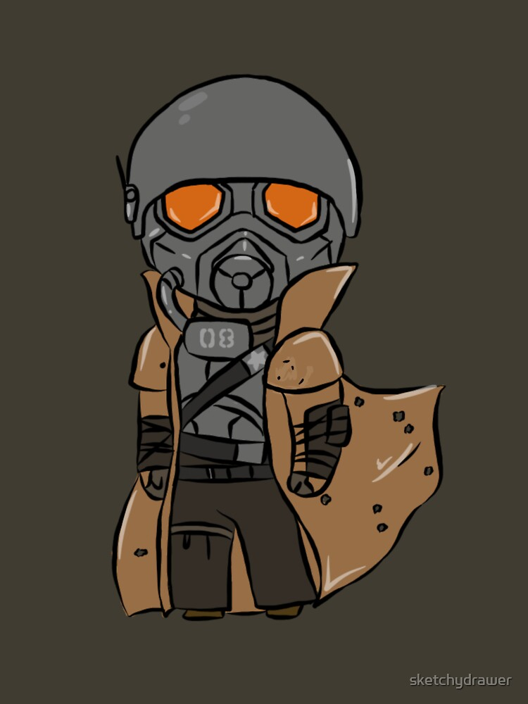 Chibi Veteran Ranger by sketchydrawer