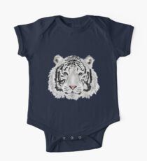 The White Tiger Shirt One Piece - Short Sleeve
