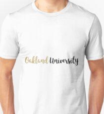 Oakland University Unisex T-Shirt
