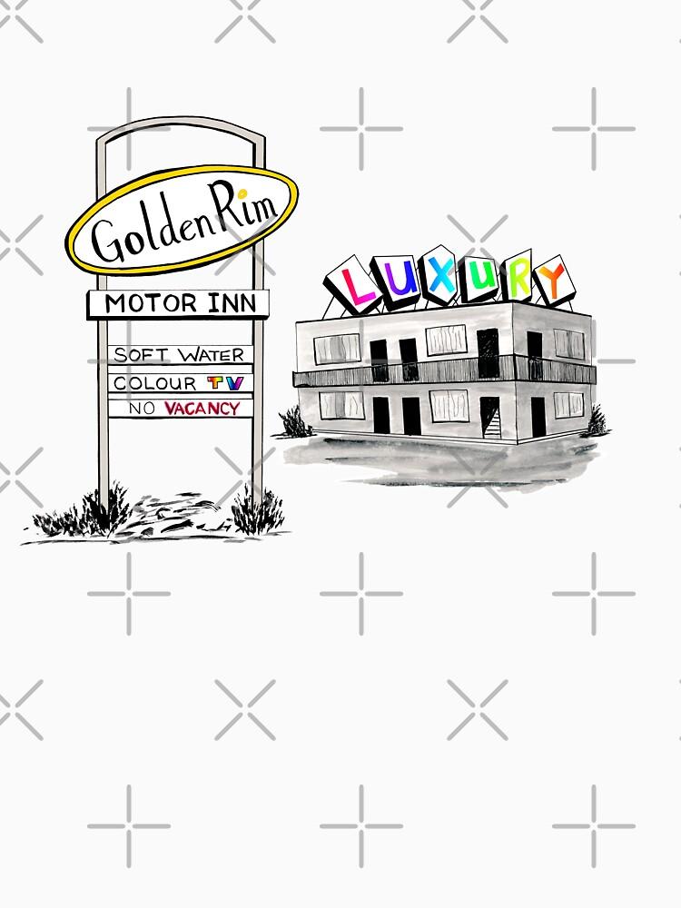 Golden Rim Motor Inn - Der Luxus von La-Ferte