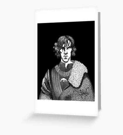 The Hollow Crown - Shakespeare's Richard III (b&w) Greeting Card