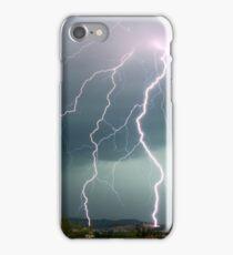 Tripple fork lightening iPhone Case/Skin