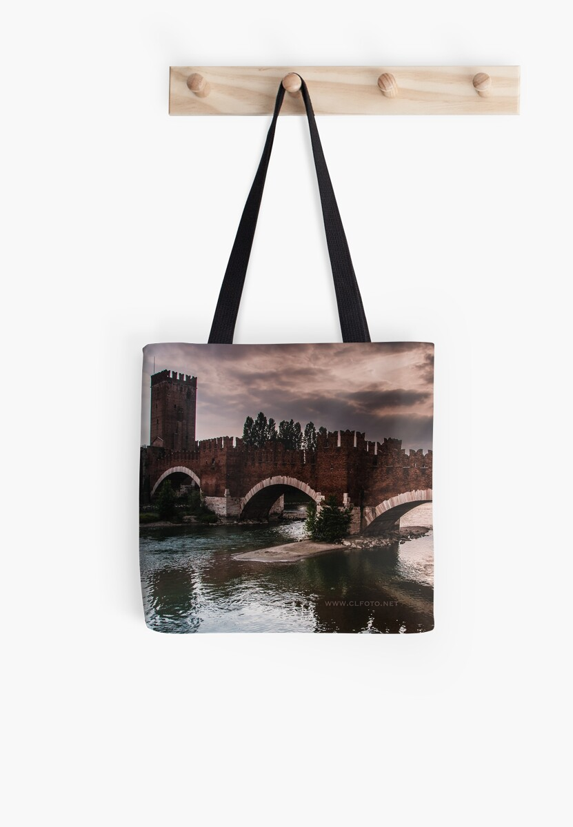 Castlevecchio Bridge, Verona, Italy by L Lee McIntyre