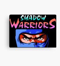 Shadow Warriors (NES) Canvas Print