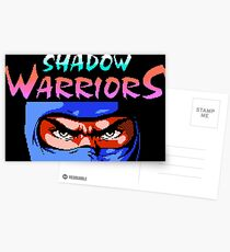 Shadow Warriors (NES) Postcards