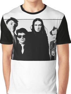 The Young Ones B&W Graphic T-Shirt