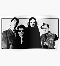 The Young Ones B&W Poster