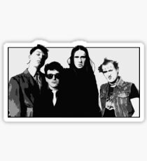 The Young Ones B&W Sticker