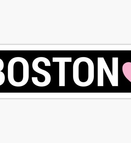 Boston Brandy Sign Sticker
