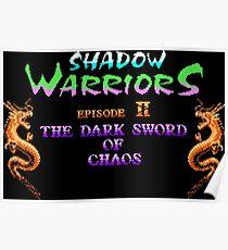 Shadow Warriors 2 (NES) Poster