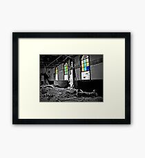 At Least These Colors Glow Framed Print