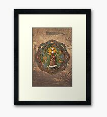 Steampunk Adventurer Framed Print