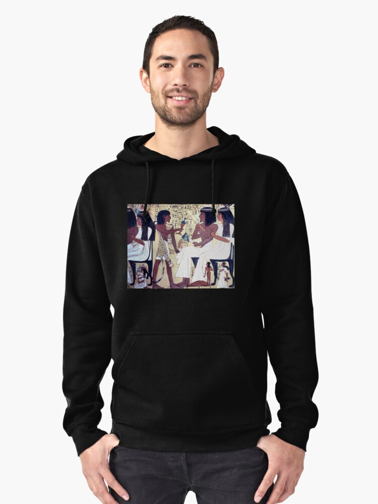 Tombs of the Nobles #2, Egypt  Pullover Hoodie Front