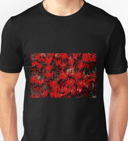 Sturt's Desert Pea, Outback South Australia  T-Shirt