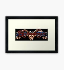 Shadowrun (SNES Title Screen) Framed Print