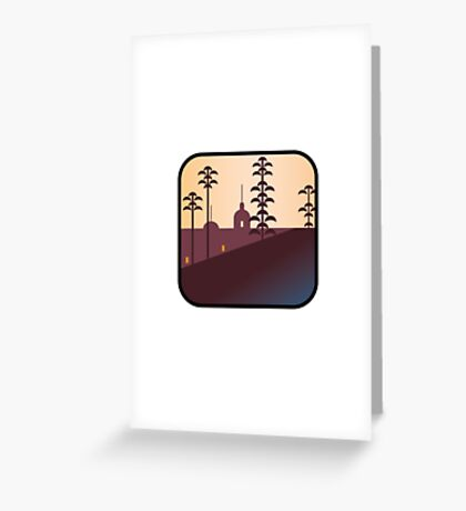 There's an app for that Hotel California Greeting Card